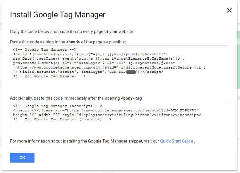اتصال گوگل آنالیتیکس با کمک گوگل تگ منیجر